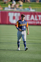 Mark Payton (16) of the Las Vegas Aviators before the game against the Salt Lake Bees at Smith's Ballpark on July 20, 2019 in Salt Lake City, Utah. The Aviators defeated the Bees 8-5. (Stephen Smith/Four Seam Images)