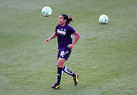 Los Angeles Sol Marta warming up. The LA Sol defeated Sky Blue FC 1-0 at Home Depot Center stadium in Carson, California on Friday May 15, 2009.   .
