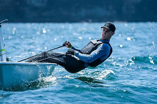 Matt Wearn, the Australian Sailing Team Laser class representative for Tokyo 2020, in Zhik's new Microfleece Hikers