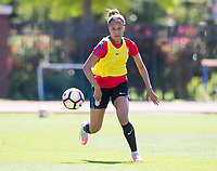 Dallas, TX - March 31, 2017: The USWNT trains in preparation for a pair of friendlies against Russia.