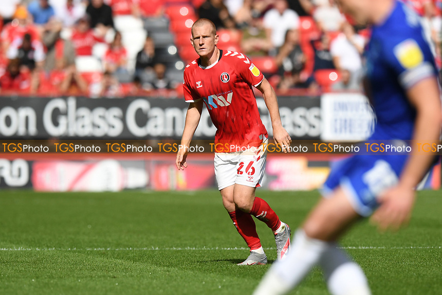 Ben Watson of Charlton Athletic FC during Charlton Athletic vs Cheltenham Town, Sky Bet EFL League 1 Football at The Valley on 11th September 2021