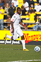 27 MARCH 2010:  Fuad Ibrahim of Toronto FC (7) during the Toronto FC at Columbus Crew MLS game in Columbus, Ohio on March 27, 2010.