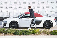 Sergio Ramos of Real Madrid CF poses for a photograph after being presented with a new Audi car as part of an ongoing sponsorship deal with Real Madrid at their Ciudad Deportivo training grounds in Madrid, Spain. November 23, 2017. (ALTERPHOTOS/Borja B.Hojas) /NortePhoto.com NORTEPHOTOMEXICO