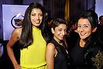From left: Mallika Doss, Dominique Ramirez and Natalia Castillo at the Simon Fashion Now event at the Houston Galleria Thursday Sept. 6,2012.(Dave Rossman photo)