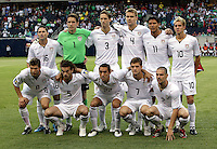 The US Men's National Team defeated Honduras 2-0 in the semifinals of the Gold Cup at Soldier Field in Chicago, IL on July 23, 2009.