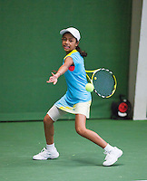 01-12-13,Netherlands, Almere,  National Tennis Center, Tennis, Winter Youth Circuit,  Charlize Bernardus <br /> Photo: Henk Koster