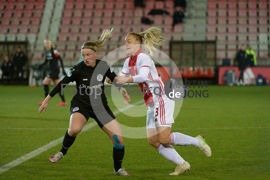 VOETBAL: AMSTERDAM: 05-03-2021, De Toekomst, Eredivisie Vrouwen, AJAX - sc Heerenveen, uitslag 1-1, Stefanie van der Gragt, ©foto Martin de Jong