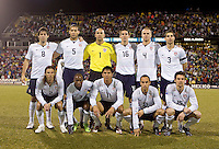Team USA starting eleven, Wed, Feb. 11, USA 2-0 over Mexico in a qualifying match for the 2010 World Cup, in Columbus, Ohio.