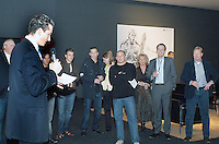 17-02-2005,Rotterdam, ABNAMROWTT ,selectie Ajax op bezoek