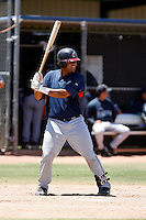 Moises Montero -  Cleveland Indians - 2009 extended spring training.Photo by:  Bill Mitchell/Four Seam Images