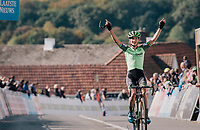 race winner Marianne Vos (NED/Waow Deals)<br /> <br /> GP Mario De Clercq / Hotond cross 2018 (Ronse, BEL)