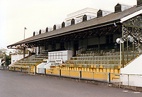 General view of Ulysses FC, University of London Athletics Stadium, Motspur Park, London, pictured on 25th October 1989