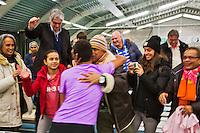 20-01-13, Tennis, Rotterdam, Wildcard for qualification ABNAMROWTT, Fabian van der Lans ontvangt felicitaties..