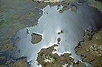 Aerial, Okavango Delta, Botswana