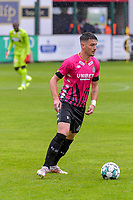 Stefan Knezevic (3) of Sporting Charleroi pictured during a friendly soccer game between Zulte Waregem and Sporting Charleroi during the preparations for the 2021-2022 season , on Saturday 10 th of July 2021 in Ingelmunster , Belgium . PHOTO STIJN AUDOOREN   SPORTPIX