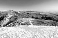 Scald Law and East Kip from Carnethy Hill, The Pentland Hills, The Pentland Hills Regional Park, Lothian