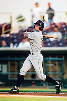 Doug Clark of the Bakersfield Blaze during a California League baseball game circa 1999. (Larry Goren/Four Seam Images)