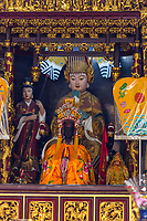Singapore, Thian Hock Keng Taoist Temple, Shrine to Ma Zu Guardian of the South Seas.