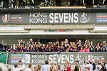 Japan Team wins the World Rugby Women's Sevens Series Qualifier Cup Final as part of the HSBC Hong Kong Rugby Sevens 2017 on 07 April 2017 in Hong Kong Stadium, Hong Kong, China. Photo by Marcio Rodrigo Machado / Power Sport Images