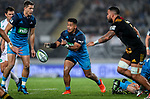 Augustine Pulu of the Blues during the Super Rugby Match between the Blues and the Chiefs, Eden Park, Auckland,  New Zealand. Friday 26  May 2017. Photo: Simon Watts / www.bwmedia.co.nz