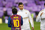 Real Madrid's Cristiano Ronaldo and FC Barcelona's Lionel Messi during spanish King's Cup on January 18th 2012...Photo: Alex Cid-Fuentes / ALFAQUI