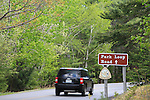 Park Loop Road in the Spring, Acadia National Park, Maine, USA