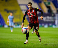 2nd October 2020; St Andrews Stadium, Coventry, West Midlands, England; English Football League Championship Football, Coventry City v AFC Bournemouth; Adam Smith of AFC Bournemouth chasing down a loose ball