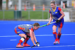 NELSON, NEW ZEALAND - Club Hockey Woman's Final. Saxton Pitch, Nelson. New Zealand. Saturday 25 September 2021. (Photo by Chris Symes/Shuttersport Limited)<br /> <br /> Licence type: Rights-managed<br /> Release info: Not released.