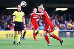 UEFA Women's Champions League 2018/2019.<br /> Semi Finals<br /> FC Barcelona vs FC Bayern Munchen: 1-0.<br /> Dominika Skorvankova.