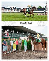Razzle Jazil winning at Delaware Park on 6/24/13