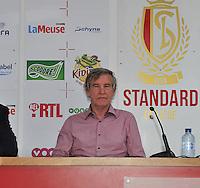 Persconferentie Standard Femina de Liege : Roland Duchatelet<br /> foto Joke Vuylsteke / nikonpro.be