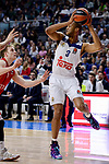 Real Madrid's Anthony Randolph during Turkish Airlines Euroleague match between Real Madrid and Crvena Zvezda Mts Belgrade at Wizink Center in Madrid, Spain. March 10, 2017. (ALTERPHOTOS/BorjaB.Hojas)