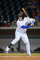 Mesa Solar Sox Victor Caratini (3), of the Chicago Cubs organization, during a game against the Peoria Javelinas on October 15, 2016 at Sloan Park in Mesa, Arizona.  Peoria defeated Mesa 12-2.  (Mike Janes/Four Seam Images)