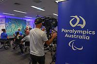 2020 Tokyo Australian Team Captains : <br /> Ryley Batt and Danni Di Toro <br /> Allianz Building - Sydney / NSW<br /> Tuesday 26 November 2019<br /> © STL / Jeff Crow / Paralympics Australia