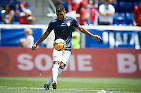 Harrison, New Jersey - Sunday, June 1, 2014: The USMNT vs Turkey during pregame in an International friendly game at Red Bull arena.