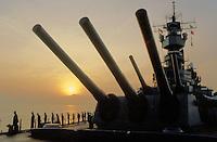 - the Missouri battleship in navigation<br /> <br /> - la corazzata Missouri in navigazione