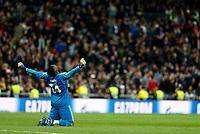 AFC Ajax's Andre Onana  during UEFA Champions League match, Round of 16, 2nd leg between Real Madrid and AFC Ajax at Santiago Bernabeu Stadium in Madrid, Spain. March 05, 2019.<br /> Champions League 2018/2019<br /> Real Madrid - Ajax Ottavi di Finale <br /> Foto Alterphotos / Insidefoto