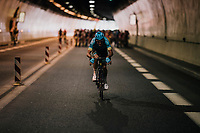 trying the break away in the tunnel at the start of the race<br /> <br /> Stage 7: Moûtiers > Saint-Gervais Mont Blanc (129km)<br /> 70th Critérium du Dauphiné 2018 (2.UWT)