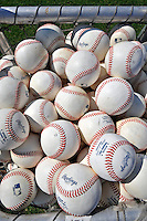 13 March 2008: Practice Baseballs are ready for batting practice prior to a Spring Training game between the Washington Nationals and the Florida Marlins at Space Coast Stadium, in Viera, Florida. The Marlins defeated the Nationals 2-1 in the Grapefruit League matchup...Mandatory Photo Credit: Ed Wolfstein Photo