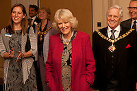 Camilla visits First Story in Nottingham