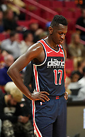 Isaac Bonga (G/F, Washington Wizards, #17) enttäuscht - 22.01.2020: Miami Heat vs. Washington Wizards, American Airlines Arena