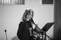 """Carlotta Natoli.<br /> <br /> Rome, 08/02/19. Moby Dick Library in Garbatella & Antimafia Duemila(2.) held the presentation of the book """"Il Patto Sporco"""" (The Dirty Pact. The Trial State-mafia in the Story [narrated] by his Protagonist, Chiarelettere,1.) hosted by the author of the book Saverio Lodato (Journalist & Author), Antonino 'Nino' Di Matteo (Protagonist of the book, Antimafia Magistrate of Palermo, member of the DNA - Antimafia & Antiterrorism National Directorate - who """"prosecuted the Italian State for conspiring with the Mafia in acts of murder & terror"""",3.4.5.6.) & Giorgio Bongiovanni (Editor of Antimafia Duemila). Chair of the event was Silvia Resta (Journalist & Author). Readers were: Bianca Nappi & Carlotta Natoli (both Actresses). From the back cover of the book: """"Let us ask ourselves why politics, institutions, culture, have needed the words of judges to finally begin to understand…A handful of magistrates and investigators have shown not to be afraid to prosecute the [Italian] State. Now others must do their part too"""" (Nino Di Matteo). """"In the pages of this book I wanted the magistrate, the man, the protagonist and the witness to speak about a trial destined to leave its mark"""" (Saverio Lodato). From the book online page: """"The attacks to Lima [politician], Falcone & Borsellino [Judges], the bombs in Milan, Florence, Rome, the murders of valiant police commissioners & officers of the carabinieri. The [Ita] State on its knees, its best men sacrificed. However, while the blood of the massacres was still running there were those who, precisely in the name of the State, dialogued and interacted with the enemy. The sentence of condemnation of Palermo [""""mafia-State negotiation"""" trial which is told in the book], against the opinion of many 'deniers', proved that the negotiation not only was there but did not avoid more blood. On the contrary, it provoked it""""(1.).<br /> Footnotes & links provided at 2nd & last page."""