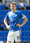 St Johnstone FC Season 2018-19…  McDiarmid Park    <br />Liam Craig<br />Picture by Graeme Hart. <br />Copyright Perthshire Picture Agency<br />Tel: 01738 623350  Mobile: 07990 594431