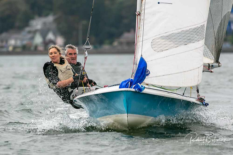 Revival - 505 sailing at the MBSC October dinghy league in Cork Harbour
