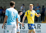Forfar v St Johnstone….27.07.19      Station Park     Betfred Cup       <br />New saints signing Madis Vihmann<br />Picture by Graeme Hart. <br />Copyright Perthshire Picture Agency<br />Tel: 01738 623350  Mobile: 07990 594431