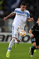 Sergej Milinkovic-Savic of Lazio in action during the Uefa Europa League 2018/2019 football match between SS Lazio and Marseille at stadio Olimpico, Roma, November, 08, 2018 <br />  Foto Andrea Staccioli / Insidefoto