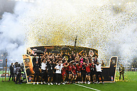 Team of Toulouse celebrates with the trophy during the Top 14 Final match between Toulouse and La Rochelle at Stade de France on June 25, 2021 in Paris, France. (Photo by Anthony Dibon/Icon Sport) - --- - Stade de France - Paris (France)