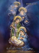 Randy, HOLY FAMILIES, HEILIGE FAMILIE, SAGRADA FAMÍLIA, paintings+++++Painterly-Holy-Family-and-Angels,USRW136,#xr#