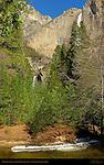 Yosemite Creek and Yosemite Falls below John Muir Cabin Site, Yosemite National Park
