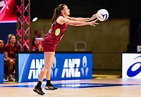 24th September 2021: Christchurch, New Zealand;  Laura Malcolm of England during the third Cadbury Netball Series/Taini Jamison Trophy, New Zealand Silver Ferns versus England Roses, Christchurch Arena, Christchurch, New Zealand